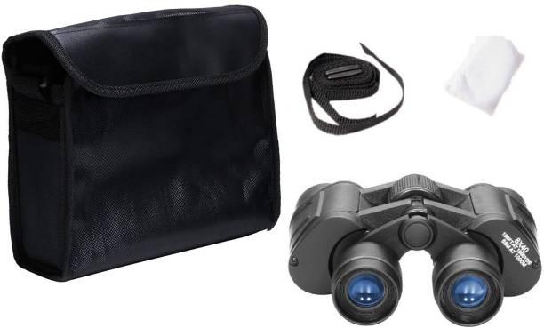 CASON 8 X 40 Professional Binoculars 10X Zoom HD Folding Powerful Lens Portable Binocular Telescope With Bag Outdoor Binoculars For Long Distance , bird watching,wildlife (Adults ,children,kids) Binoculars