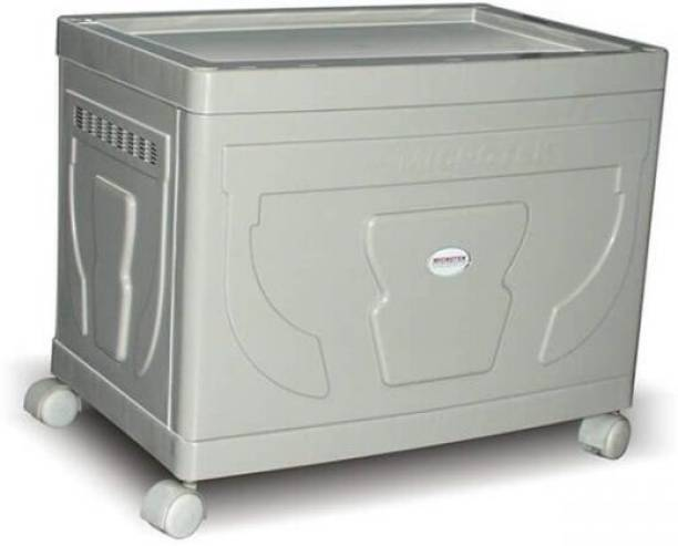 Microtek Trolley for Single Jumbo Tubular battery Trolley for Inverter and Battery