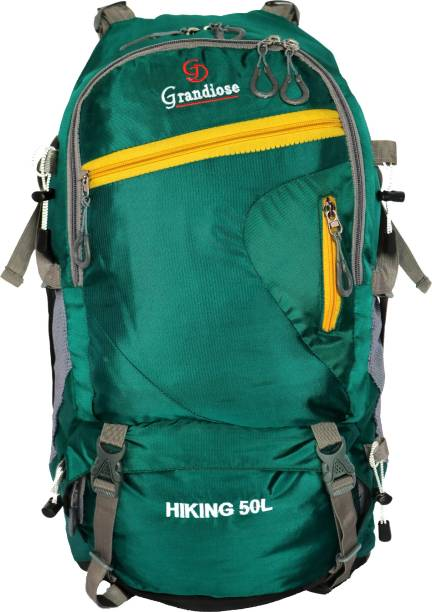 c405c72e77f2 GRANDIOSE 50 L Green Hiking Backpacks and Rucksack bags (GTB65003GR)  Rucksack - 50