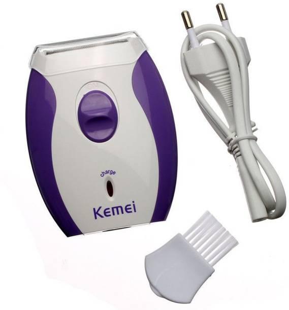 Kemei KM-280R Portable Electric Rechargeable Shaver Hair Removal Hair Clipper Epilator Bikini Shaving TRIMMER