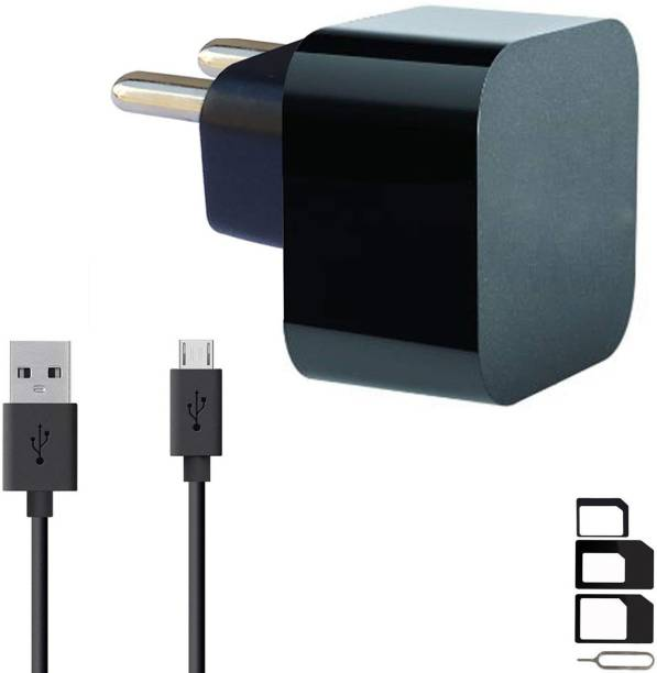 GoSale Wall Charger Accessory Combo for iBall Andi F2F 5.5U, Q4, HD6, 5G Blink 4G, 5.5H Weber, Avonte 5, 5.5H Weber 4G, 5Q Gold 4G, 5K Infinito2, 5N Dude, 5L Rider, Cobalt Solus 4G, Sprinter 4G, 4.5C Magnifico, iBall mSLR Cobalt 4, 4F Arc3, 5U Platino, iBall Cobalt 5.5F Youva, 4P Class X, 4.5M Enigma, 4L Pulse, iBall Andi5T Cobalt2, iBall Andi4 B20, 5M Xotic, 4U Frisbee, 5K Panther Charger Original Adapter Like Wall Charger, Mobile Power Adapter, Fast Charger, Android Smartphone Charger, Battery Charger, High Speed Turbo Travel Charger With 1 Meter Micro USB Cable Charging Cable Data Cable