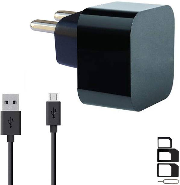 ShopMagics Wall Charger Accessory Combo for LG Optimus L5 Dual E615, LG G Pro 2, LG Optimus L4 II Dual E445, LG Optimus L3 II E425, LG G4 Stylus 3G, LG Optimus G Pro, LG L60i, LG F60, LG L Bello, LG L Fino, LG G Pro Lite Dual, LG Max, LG Optimus Hub Charger Original Adapter Like Wall Charger, Mobile Power Adapter, Fast Charger, Android Smartphone Charger, Battery Charger, High Speed Turbo Travel Charger With 1 Meter Micro USB Cable Charging Cable Data Cable