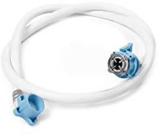 Pooja Trendz 1 Pcs 1.5 METER UNIVERSAL WASHING MACHINE INLET HOSE + Faucet Tap Adapter Set. Washing Machine Inlet Hose