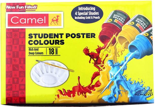 Camel Student Poster Colours - 18 Shades
