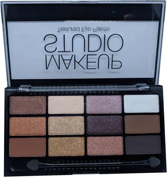 Sivanna Makeup Studio Textured Eye Palette 18 g