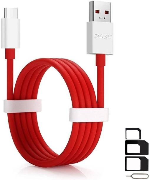ShopsNice Cable Accessory Combo for Honor 8 Lite, Honor 9, Honor Note 9, Honor V10, Honor V9, Honor V9 Mini, Honor WaterPlay LTE, Honor WaterPlay WiFi, Hp Elite X3 High Speed Type C Dash USB Charging Data Sync Cable 1 Meter With SIM Adapter