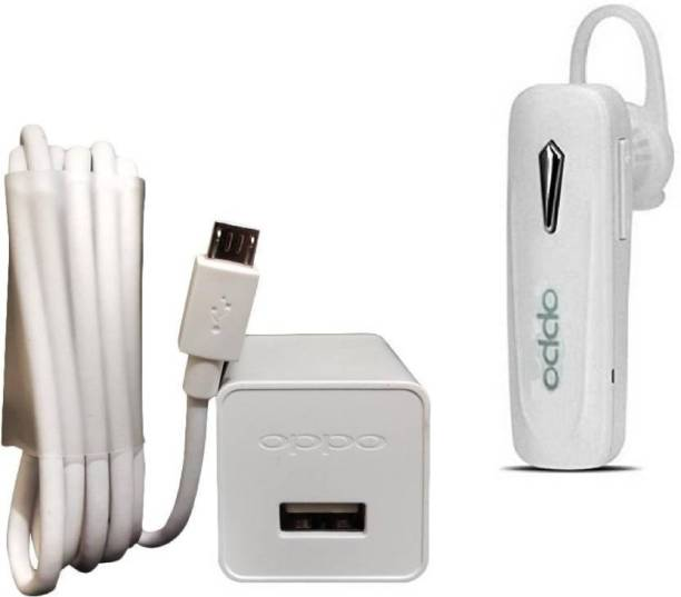 OPPO Wall Charger Accessory Combo for Oppo Mobile (White)