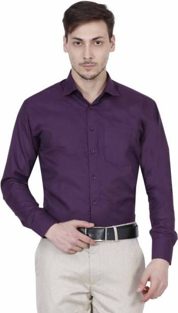 308b9317bdc Purple Formal Shirts - Buy Purple Formal Shirts Online at Best ...