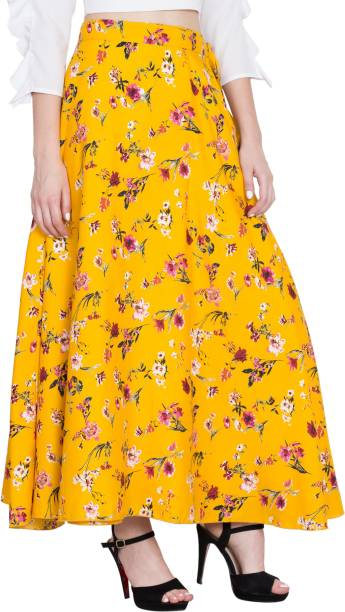 011739d751 Yellow Skirts - Buy Yellow Skirts Online at Best Prices In India ...