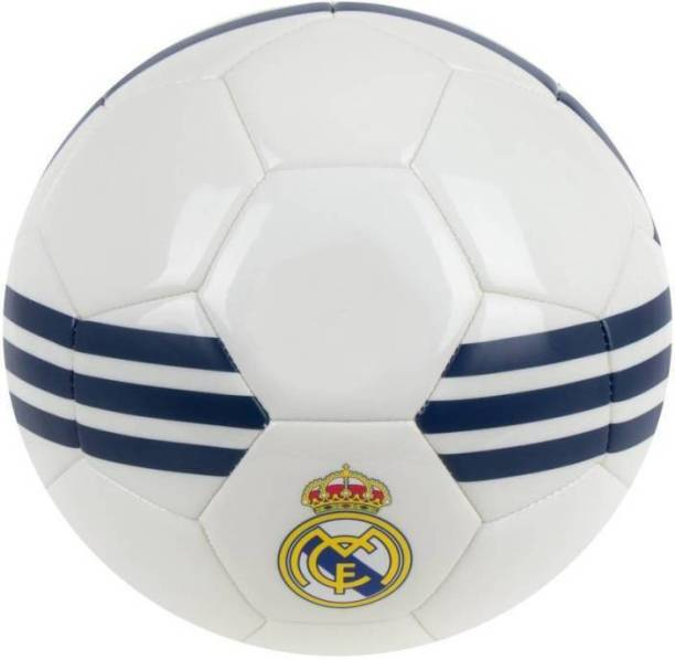 RASON Madrid white Football 32 Panel (Size-5) Football - Size: 5