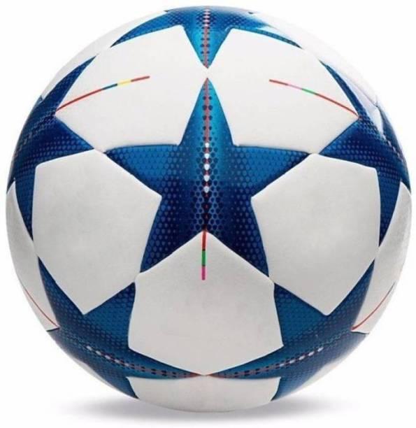 RASON Blue Star Champion Hand Stitched 32 Panel Football (Size-5) Football - Size: 5
