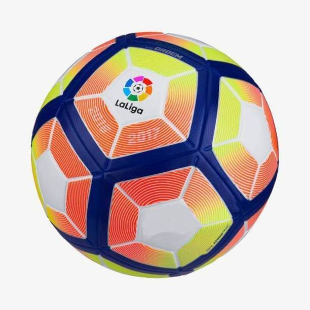 Starchamp 12 Panel Lali----ga Pitch Football (Size 5_Multicolor) Football - Size: 5