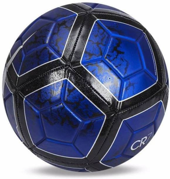 RASON Blue CR 7 FCB FOOTBALL (Size 5) Football - Size: 5