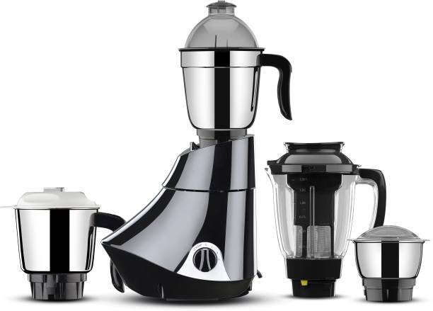 Butterfly Rapid 4 Jar 750 watts 750 W Juicer Mixer Grinder (4 Jars, Black)
