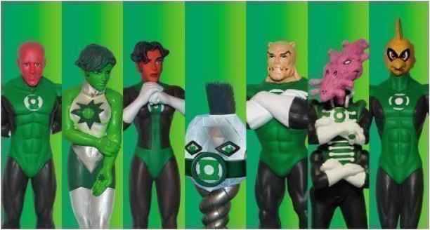 DC DIRECT 1st FIRST APPEARANCE GREEN LANTERN ACTION FIGURE BRAND NEW IN BOX 2003