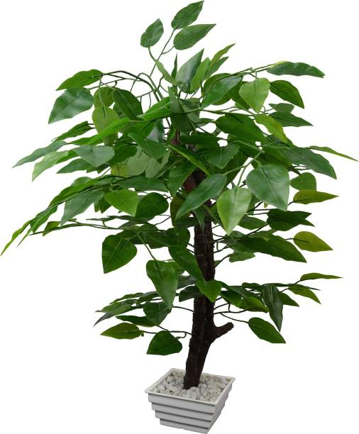 fancymart Ficus Tree Bonsai Artificial Plant  with Pot