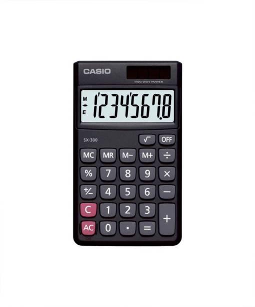 CASIO SX-300-W Portable Basic  Calculator