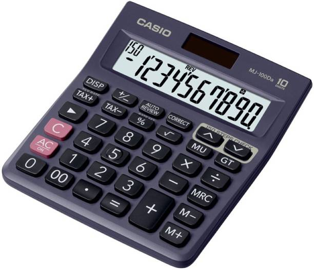 CASIO MJ-100Da Desktop Basic  Calculator
