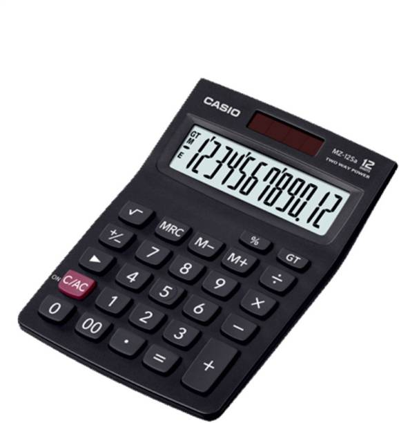 CASIO MZ-12SA Desktop Basic  Calculator