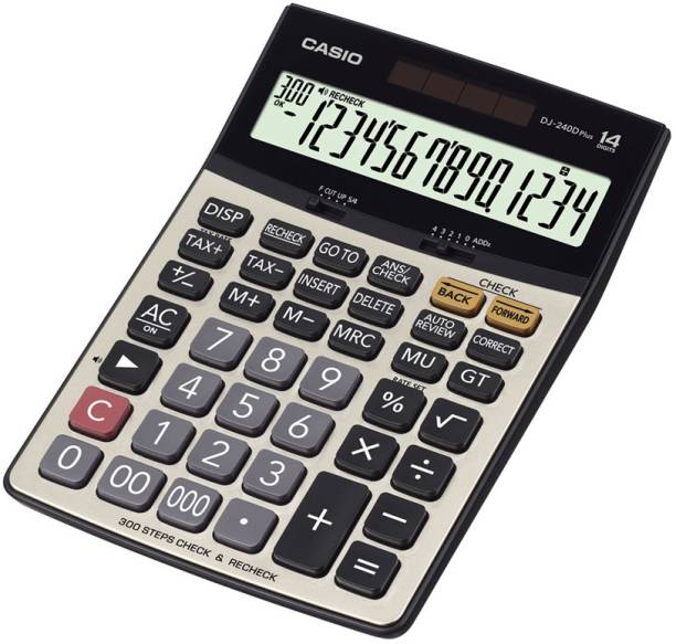 CASIO DJ-240DPLUS Desktop Basic  Calculator