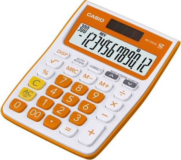 CASIO MJ-12VCB-RG Desktop Basic  Calculator