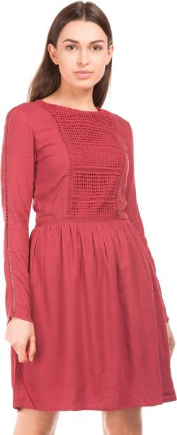 f1c94ec7b4d1 Red Dresses - Buy Red Party Dresses Online at Best Prices In India ...