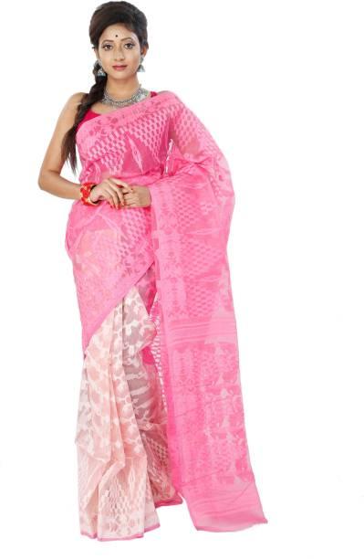 c35cb2e37f Jamdani Sarees - Buy Jamdani/Dhakai Sarees Online at Best Prices In ...
