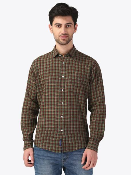 aa60afa63 Linen Shirts - Buy Linen Shirts online at Best Prices in India ...