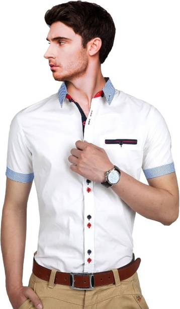 65d9a927fb Qlonz Store Casual Party Wear Shirts - Buy Qlonz Store Casual Party ...