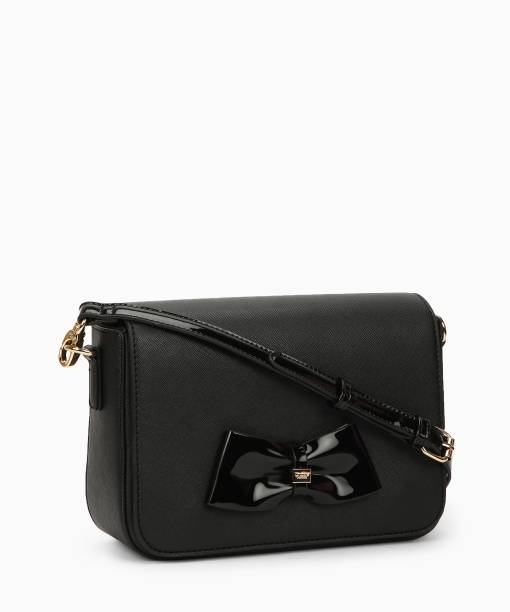 Dune London Black Sling Bag