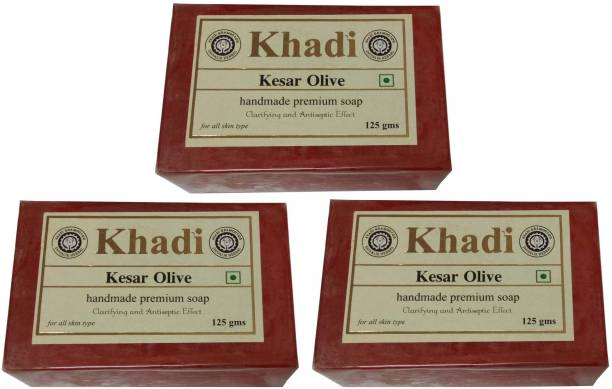 500 Gm Charitable Khadi Tea Tree Soap pack Of 4