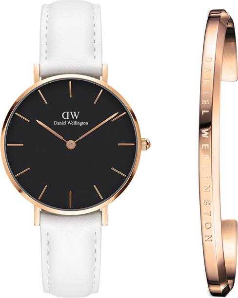 1d92c548aa59 Daniel Wellington DW00500275 Classic Petite Bondi Black RG 32mm   Classic  Cuff Rose Gold. Watch