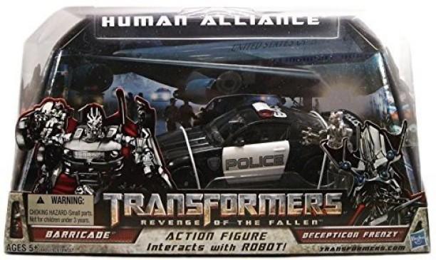 "Revenge of the Fallen Human Alliance Barricade 7/"" Action Figure Figurine"