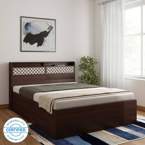 Crystal Furnitech Amber Engineered Wood Queen Box Bed