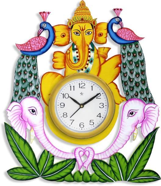 Flipkart SmartBuy Analog 40.64 cm X 35.56 cm Wall Clock