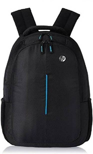 38746cb7058 HP 15.6 inch Expandable 20 L Laptop Backpack (Black) Waterproof School Bag