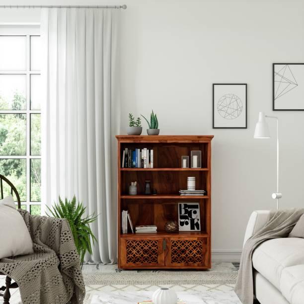 Flipkart Perfect Homes PureWood Sheesham Book Shelf