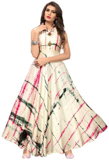 e33715865b Lady Ethnic Gowns - Buy Lady Ethnic Gowns Online at Best Prices In ...