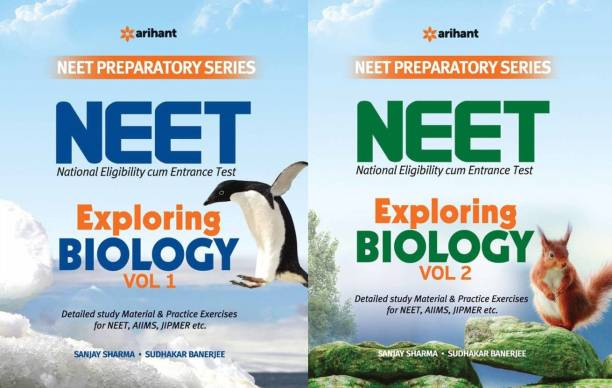 Combo Of Exploring Biology For Neet Vol1 And Vol2