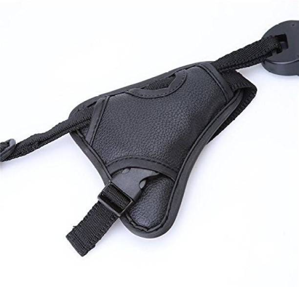 Ozure PU Leather Soft Camera Hand Grip Wrist Strap For Canon Nikon Sony SLR, DSLR