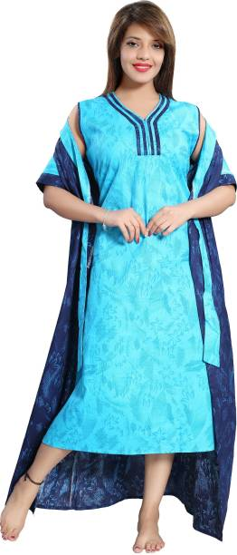 57ace1d74c Blue Night Dresses Nighties - Buy Blue Night Dresses Nighties Online ...