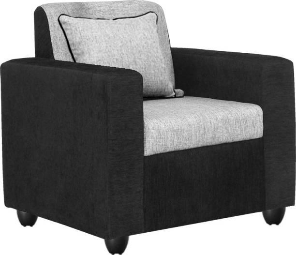 Bharat Lifestyle Tulip Fabric 1 Seater  Sofa