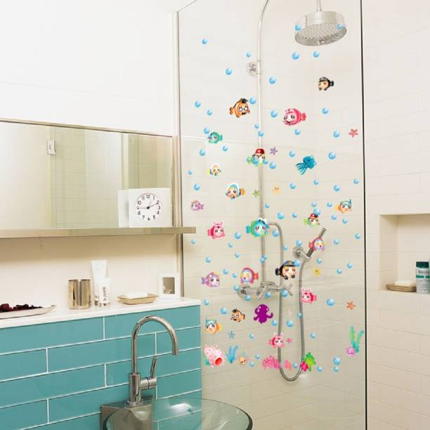 Jaamsoroyals Small Colorful Bubble Fishes Children Wall
