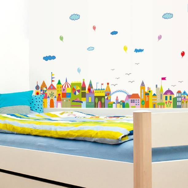 Jaamsoroyals Medium Kids Wall sticker for bedroom