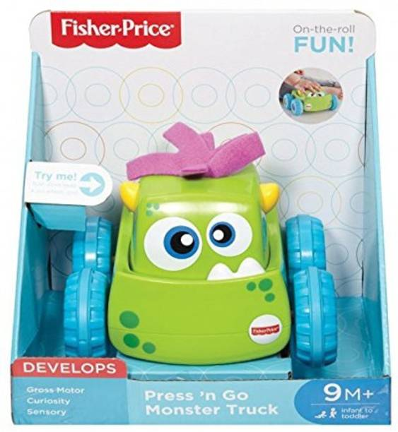 FISHER-PRICE Press and Go Vehicle