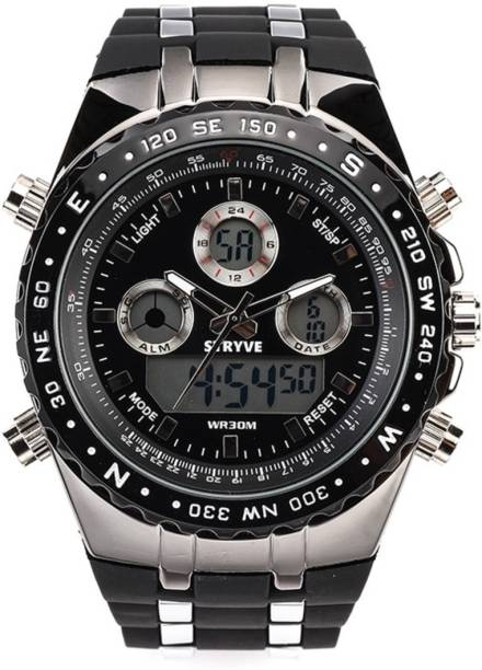 74c5f0ffd STRYVE StryveS80021 Aquaasian STRYVE S8002 Top Brand Luxury digital Quartz  Waterproof silicone Sport full calendar Wrist