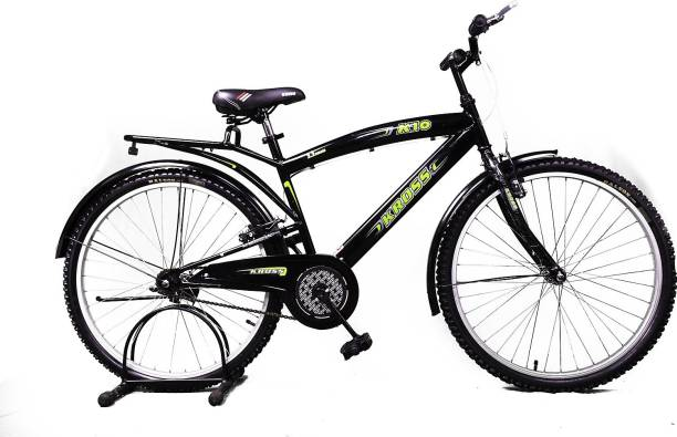 Kross K10 New 26 Black&Green 26 T Mountain Cycle