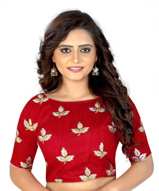 97d2ee8f25754 Cotton Silk Blouse Material - Buy Cotton Silk Blouse Material Online ...