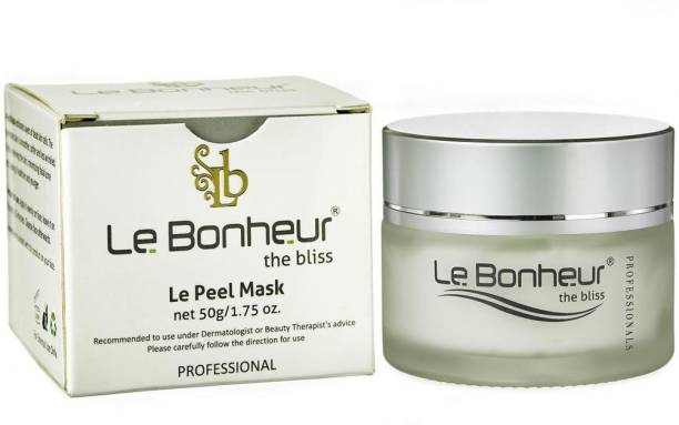 Le Bonheur Peel Mask   Pigmentation  Skin Lightening   Open Pores Reduction