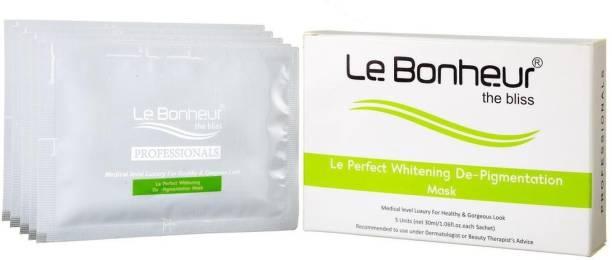 Le Bonheur Perfect Whitening Depigmentation Mask (5 pcs)